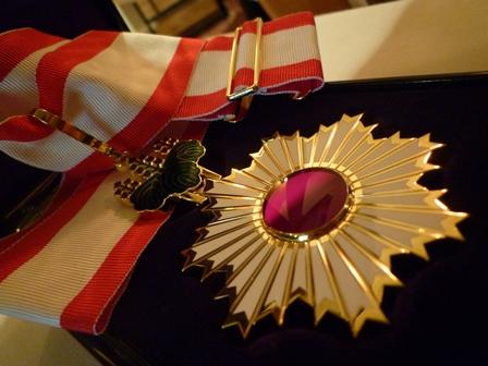 Order of the Rising Sun Awarded to Professor Helen